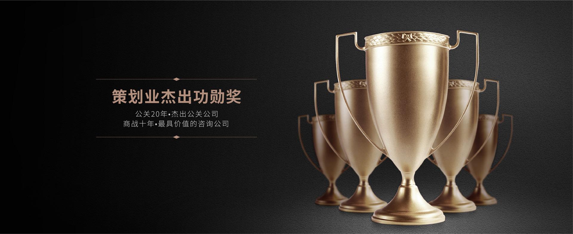 中国企业营销策划业杰出贡献奖
