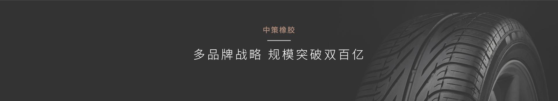 上海品牌营销公司对中策橡胶进行品牌规划,以明星子品牌带动母品牌辐射各子品牌打造明星品牌案例鼠标划过效果